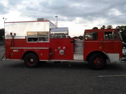 1970 Seagrave Fire Truck For Sale (picture 1 of 6)