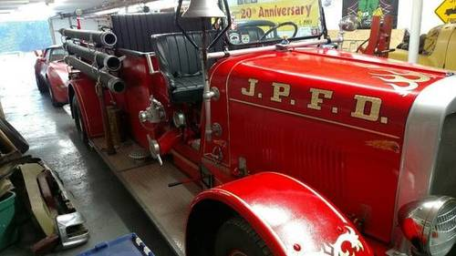 1932 Sanford Fire Truck For Sale (picture 1 of 3)