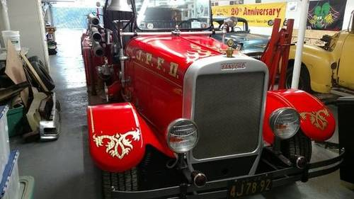 1932 Sanford Fire Truck For Sale (picture 2 of 3)