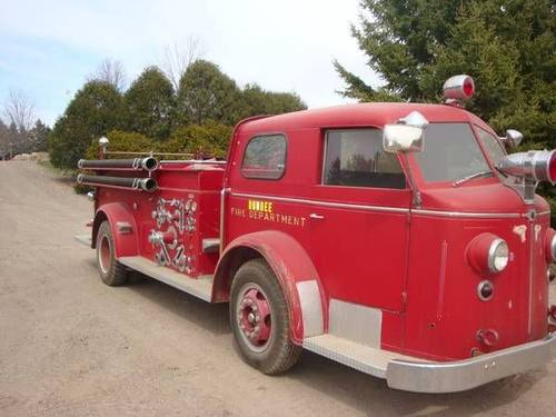 1951 American LaFrance Fire Truck For Sale (picture 2 of 6)