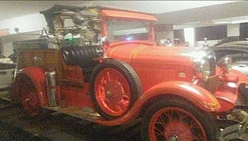 1929 Ford AL Fire Truck For Sale (picture 1 of 1)