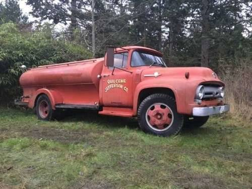 1956 Ford F600 Fire Truck For Sale (picture 1 of 6)