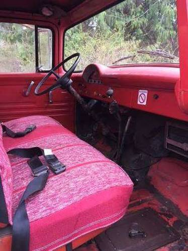 1956 Ford F600 Fire Truck For Sale (picture 5 of 6)