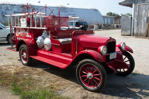 1926 Chevrolet Obenchain-Boyer Fire Truck For Sale (picture 1 of 6)