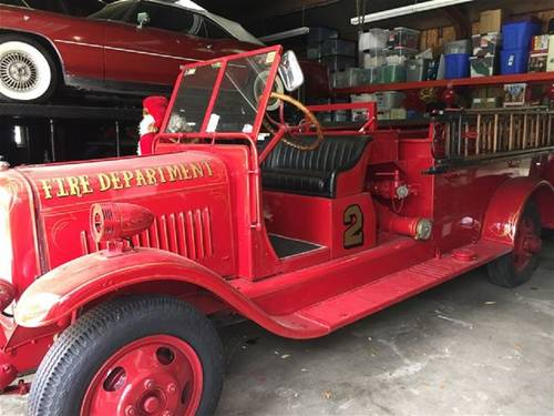 1929 American LaFrance Fire Truck For Sale (picture 1 of 4)
