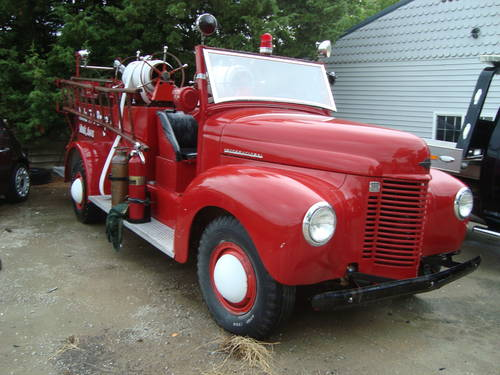 1945 International Fire Truck For Sale (picture 1 of 6)