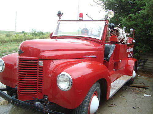 1945 International Fire Truck For Sale (picture 2 of 6)