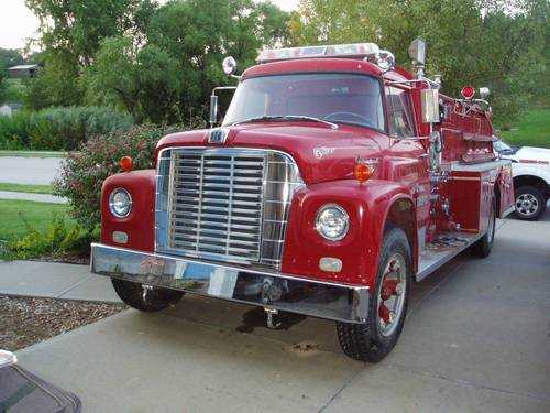 1965 International Fire Truck For Sale (picture 1 of 6)