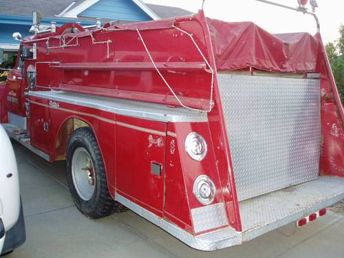 1965 International Fire Truck For Sale (picture 4 of 6)