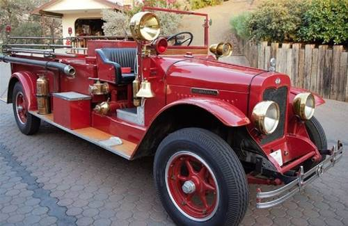 1927 International Fire Truck For Sale (picture 1 of 6)