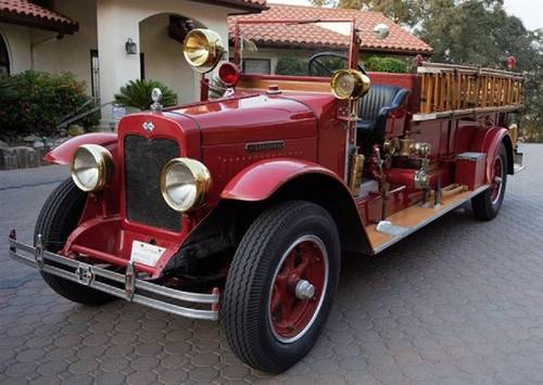 1927 International Fire Truck For Sale (picture 2 of 6)