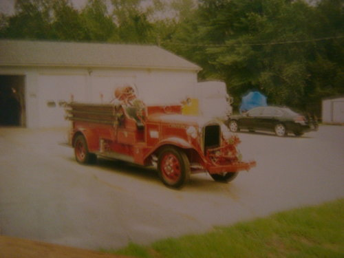 1935 REO Speedwagon Fire Truck For Sale (picture 2 of 6)
