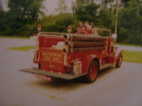1935 REO Speedwagon Fire Truck For Sale (picture 3 of 6)