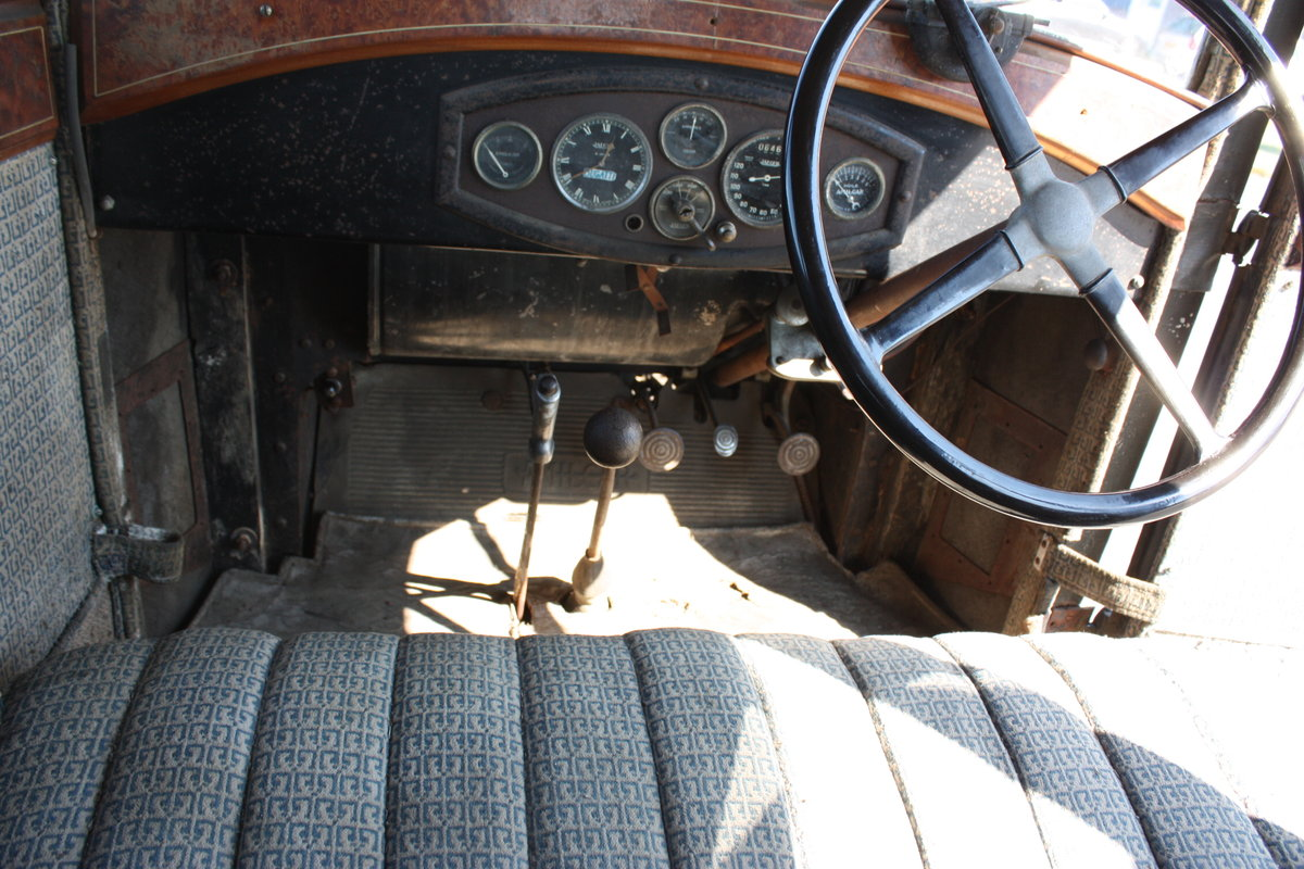 Amilcar M Type Weymann Saloon 1928 Complete Original For Sale (picture 3 of 6)