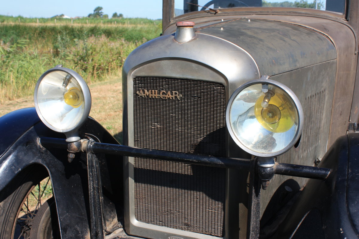 Amilcar M Type Weymann Saloon 1928 Complete Original For Sale (picture 1 of 6)