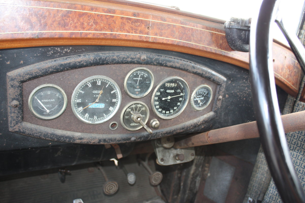 Amilcar M Type Weymann Saloon 1928 Complete Original For Sale (picture 4 of 6)