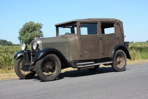 1928 Amilcar M Type Weymann Saloon  Complete Original