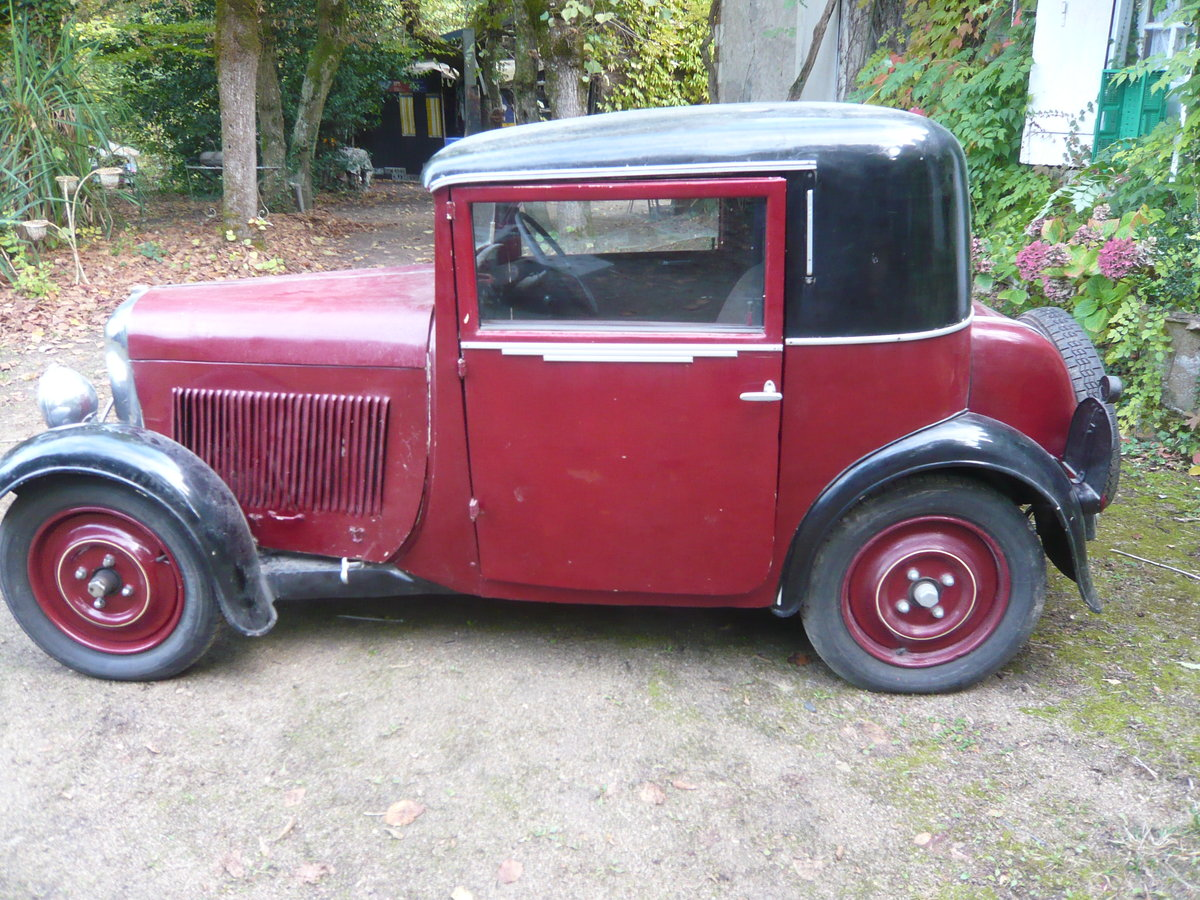 1930 Amilcar C3 coupe doctor For Sale (picture 1 of 6)