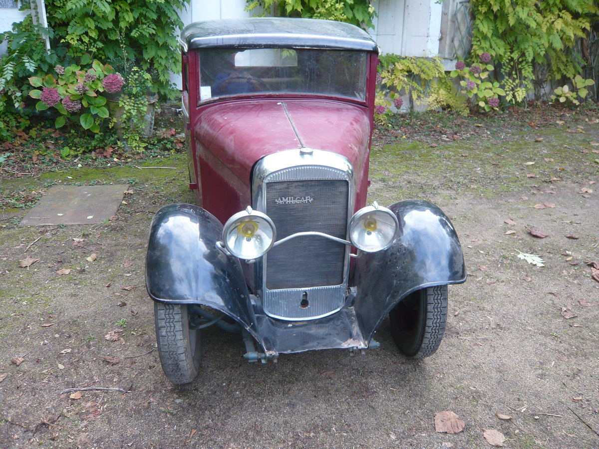 1930 Amilcar C3 coupe doctor For Sale (picture 3 of 6)