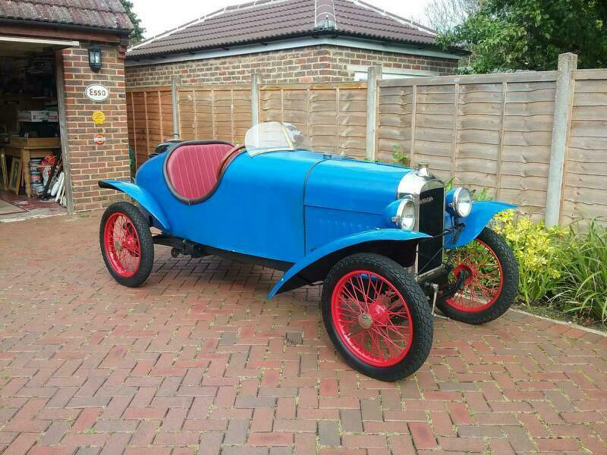 1924 Amilcar CC 22 Feb 2020 For Sale by Auction (picture 1 of 6)
