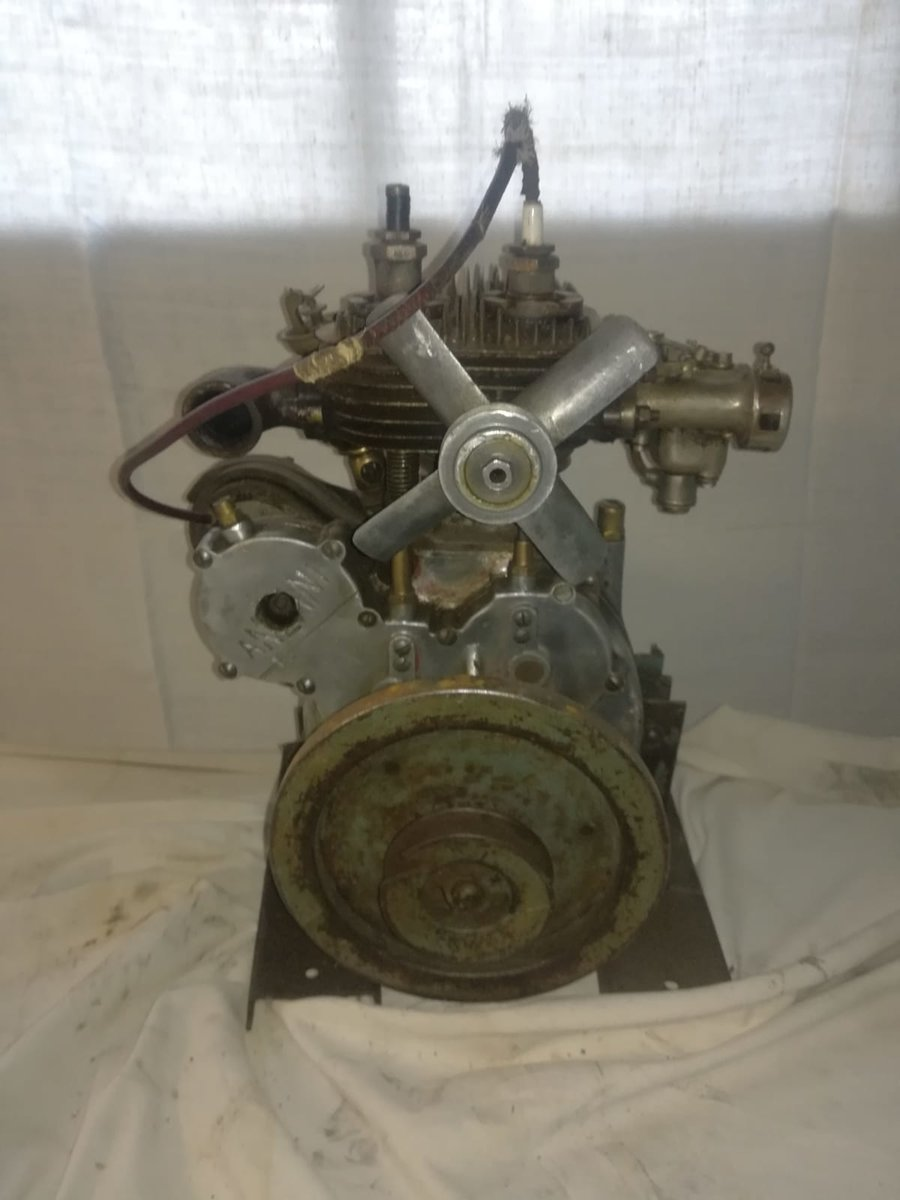 1930 ENGINE ANZANI 350 VERY RARE For Sale (picture 2 of 5)