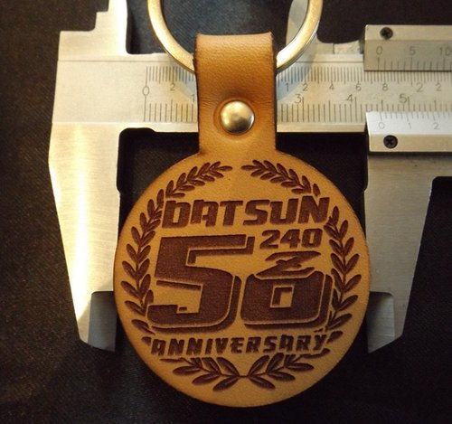 50 year Datsun Z anniversary badge and sticker For Sale (picture 6 of 6)