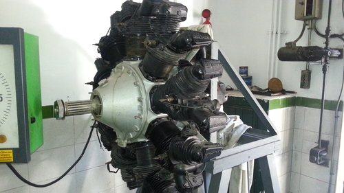 1928 RADIAL ENGINE 9QD 1930 For Sale (picture 1 of 6)