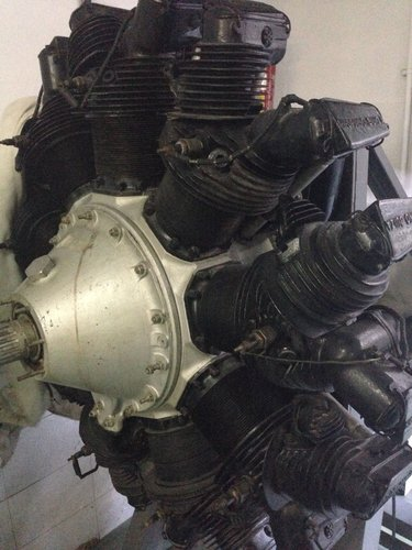 1928 RADIAL ENGINE 9QD 1930 For Sale (picture 5 of 6)
