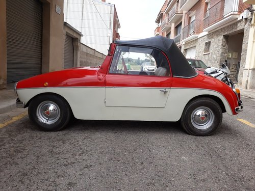 1959 LHD - PTV 250 Cabriolet microcar made in Spain For Sale (picture 1 of 6)