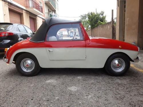 1959 LHD - PTV 250 Cabriolet microcar made in Spain For Sale (picture 2 of 6)