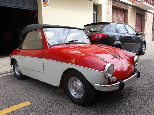 1959 LHD - PTV 250 Cabriolet microcar made in Spain For Sale (picture 3 of 6)