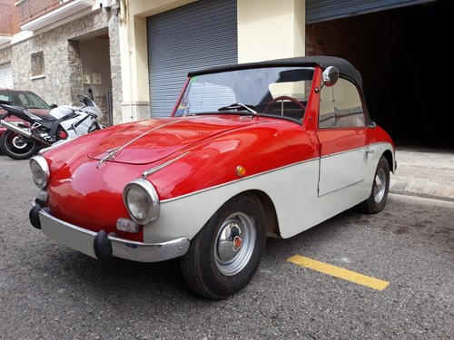 1959 LHD - PTV 250 Cabriolet microcar made in Spain For Sale (picture 4 of 6)