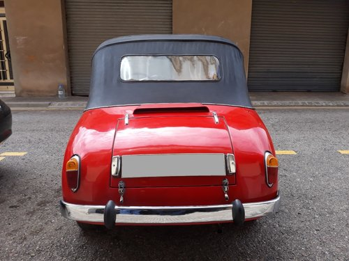 1959 LHD - PTV 250 Cabriolet microcar made in Spain For Sale (picture 5 of 6)