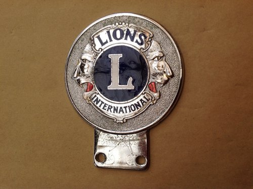 Lyons Club International Enamel Badge  SOLD (picture 1 of 1)