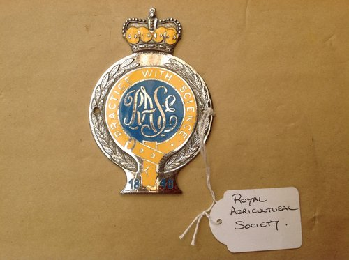 Royal Agricultural Society Enamel Badge  SOLD (picture 1 of 1)