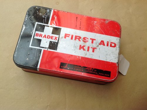 Bradex First Aid Kit 1970's For Sale (picture 1 of 2)
