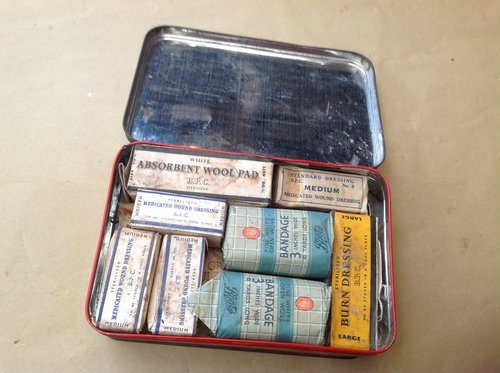 Bradex First Aid Kit 1970's For Sale (picture 2 of 2)