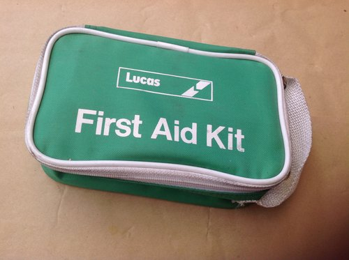 Lucas Fist Aid Kit 1980's For Sale (picture 1 of 2)