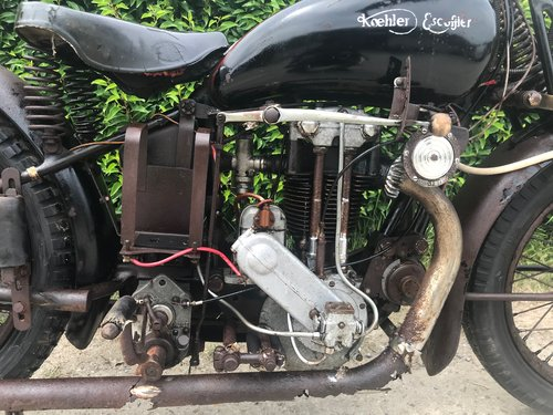 Koehler Escoffier - KGA   350cc OHV   1933 For Sale (picture 2 of 6)