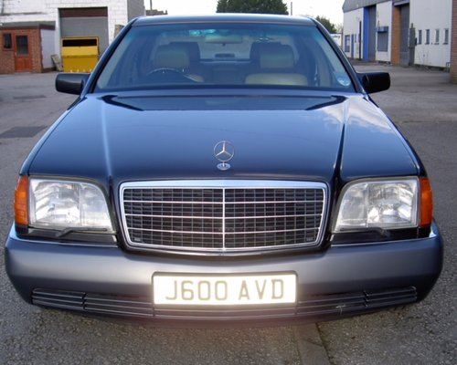 MERCEDES 600SEL W140 S CLASS 1992 600 CLASSIC CAR For Sale (picture 1 of 6)