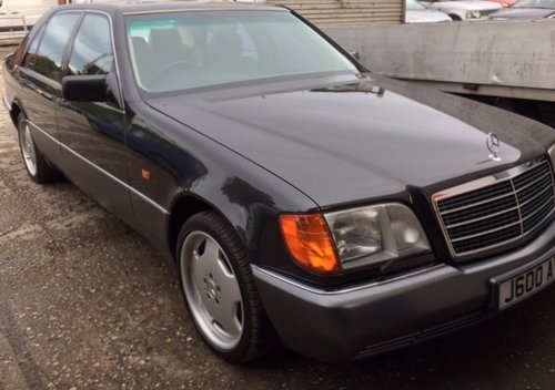 MERCEDES 600SEL W140 S CLASS 1992 600 CLASSIC CAR For Sale (picture 2 of 6)
