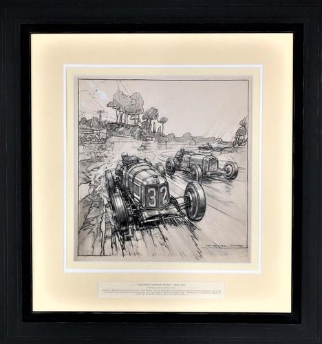 1933 Frederick Gordon Crosby (1885-1943)  Epic Last Laps Number 6 SOLD (picture 1 of 2)