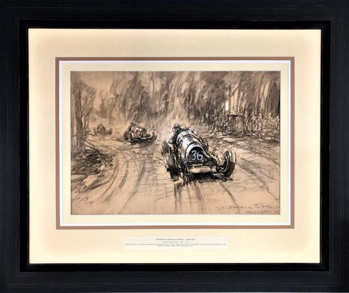 1935 Frederick Gordon Crosby (1885-1943) – offset Riley leads For Sale (picture 1 of 2)