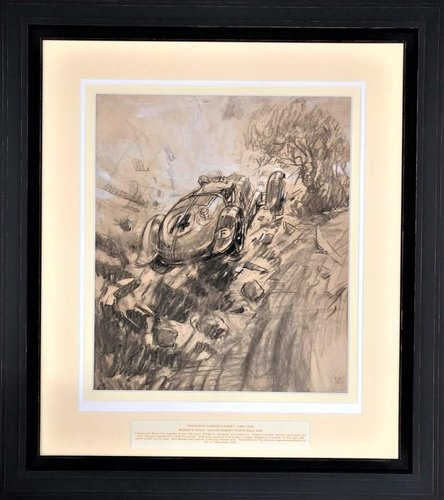 1936 Frederick Gordon Crosby (1885-1943) – Mongins Crash For Sale (picture 1 of 2)