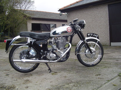 1960 B.S.A  DBD 34 GOLDSTAR For Sale (picture 6 of 6)