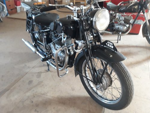 Militar Bianchi 500M year 1936 - good condition For Sale (picture 2 of 6)