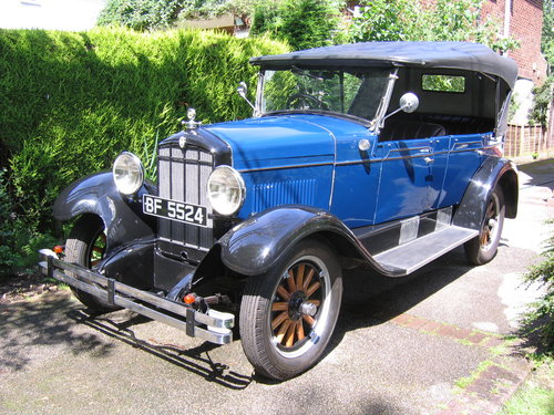 1929 Durant - four door open tourer For Sale (picture 1 of 6)