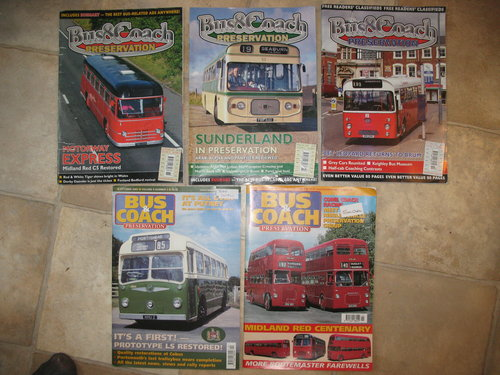 Variety of Classic transport magazines For Sale (picture 4 of 6)