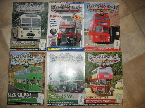 Variety of Classic transport magazines For Sale (picture 5 of 6)