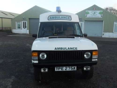 1982 Range Rover Ex MOD Ambulance For Sale | Car And Classic